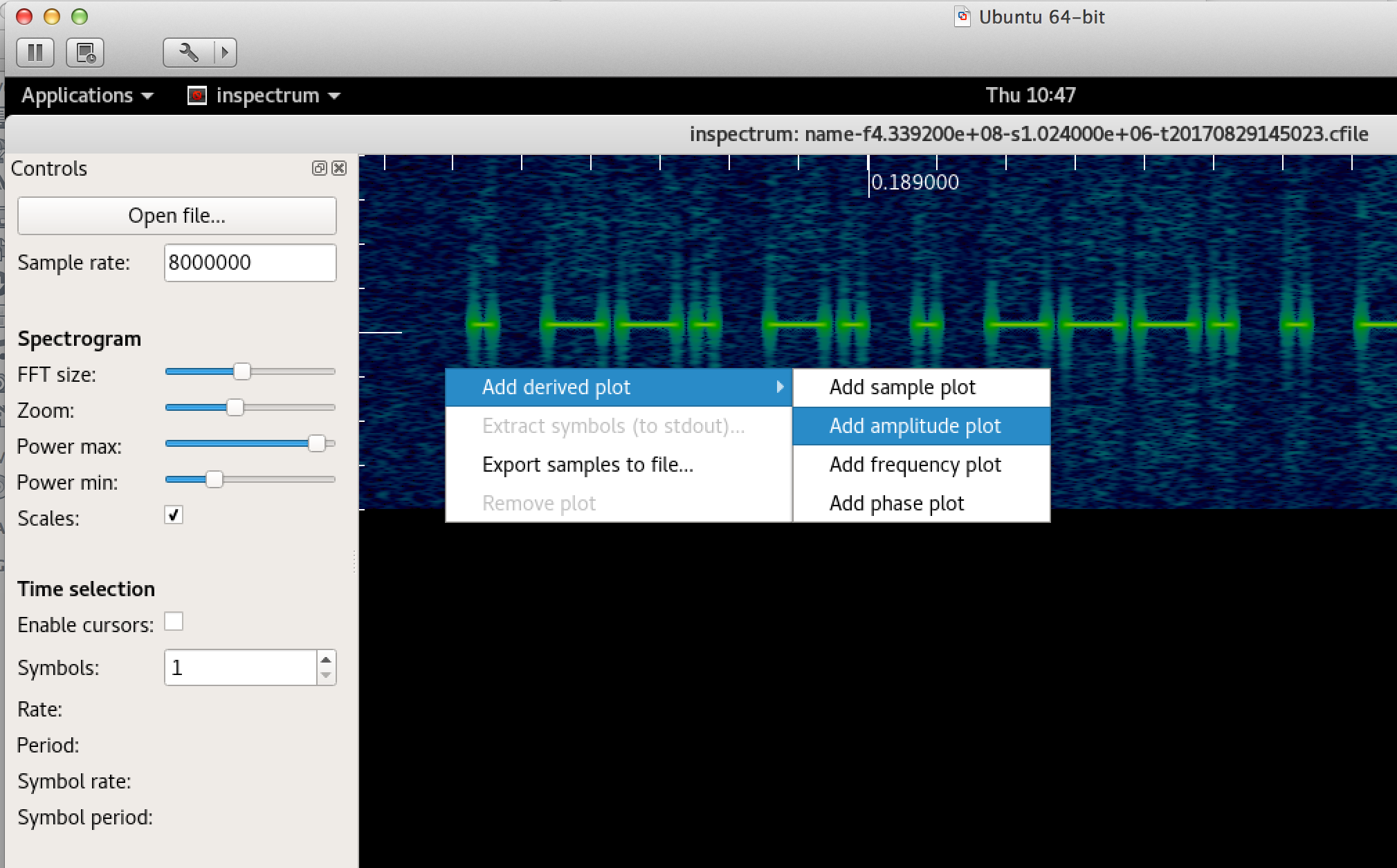 ASK/L(OOK)/Listen! - Basic Signal Decoding and Replay